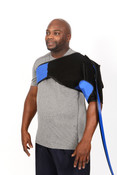 Bio Compression BioCryo Shoulder Cold Therapy manage pain reduce inflammation from the injury site, Must Use the Bio Cryo Pump.