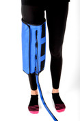 Bio Compression BioCryo Knee Garment Safely administers cold, sequential, gradient compression