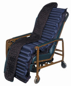 Geri Chair Geriatric Recliner Mattress Overlay Free Ship, No Tax, for Pressure Ulcers, Use on any Day Chair, Blue Chip Medical, Pump Included.