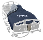 "The Topper Helps Keep Skin Cool, Reduce Heat and Moisture, Easy Wipe Clean Cover, Quiet Air Flow,  (cover, control unit, carry bag) 80""L x 36""W"