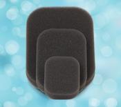 Pensar WoundPro Foam Dressings Hydrophobic Small, foam only ( per case:10)