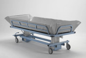 "Bariatric Shower Trolley Hospital Grade Superior Construction, Easy Transfer from bed to shower, Tilt Patient  to the ""Trendelenburg"" position, Free Ground USA Shipping."