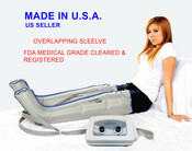 Neomedic Full Leg Sequential  4 Chamber Sleeve Only, Sold Individually *Lymphedema Pump Not Included* No Tax, Free Shipping.