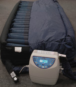 K-Z Z-TURN Digital Alternating Rotation LAL Mattress System Designed to Prevent and Treat Decubitus Ulcers, 80 x 36 x 10 Inches. 3 Week Lead Time.