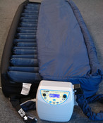 Superior K-6 Bariatric TURN-ZONE Digital Alternating Rotation Low Air Loss Mattress System - 80 x 42 x 10 inches,  3 Week Lead Time.