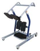 Span America Standing Transfer Aid Manual, Easy Base Width Adjustment, Locking Rear Casters, Encourages Activity and Helps Maintain Strength.