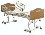 Hospital Bed Joerns Care 100 Bed Frame, Roll In Low Only, Four Quiet DC Electric Motors, Grid Mattress Deck,  80'' Length, Many Options Sold at Our Cost to You, Open Pdf for Options.