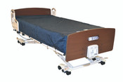 DolphinCare Integrated Bed System Fluid Immersion Simulation Integrated with the Evolutionary UltraCare XT Bed Frame, Control Unit, Bed Panels (Quartered Oak) Bedside Assist Rails, All Included, Free Ship.