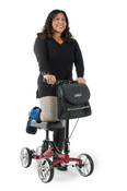 S8 Knee Walker Lumex, Free Ship, Choose your Color, Same Price, Apple Red, Purple, Black.