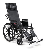 "Advantage Recliner Wheelchair 20"" x 17"" Other Sizes Available"