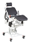 Rebotec Phoenix Height Adjustable and Reclining Shower Chair - Electric.