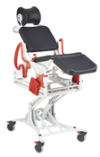 Rebotec Phoenix Height  Adjustable and Reclining Shower Chair - Hydraulic.