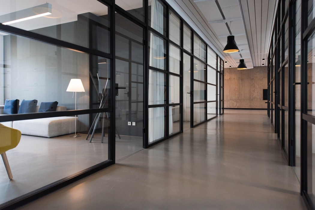 Fully enclosed break room