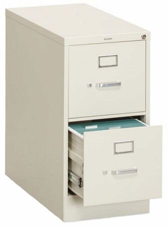 HON 2 Drawer File Cabinet with Core Removable Lock [312P] -1