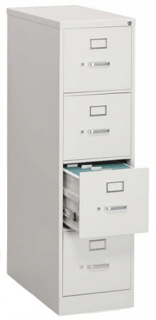 HON 4 Drawer File Cabinet with Lock [314P] -1