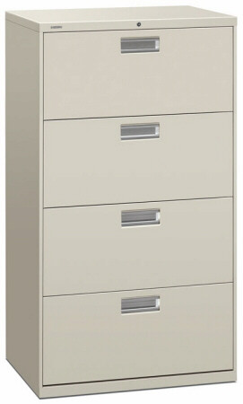 "HON 30"" 4 Drawer Lateral File Cabinet [674L] -1"