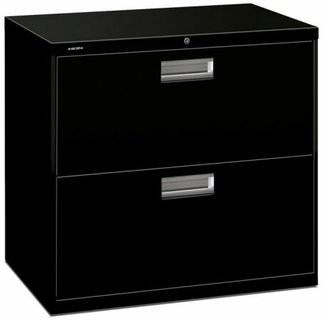 "HON 600 Series 30"" Lateral 2 Drawer File Cabinet [672L] -1"