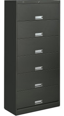 6 Shelf Lateral File Cabinet with Receding Doors [626L] -1