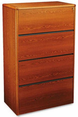 HON Laminate 4 Drawer Filing Cabinet [107699] -1