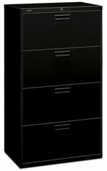 "30"" 4 Drawer HON Lateral File Cabinet [574L] -1"