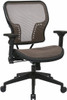 Latte Air Grid Mesh Back Office Chair [213-38N1F3] -1