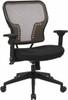 Latte Air Grid Mesh Back Office Chair [213-38N1F3] -2