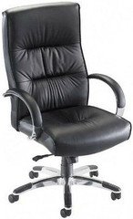 Lorell Bridgemill High Back Leather Chair [60502] -1