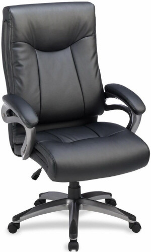 Lorell Bonded Leather High Back Executive Chair [69516] -1