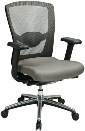 Lorell Mesh Back Office Chair [60539] -1