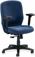 Lorell Sculptured Fabric Office Chair [60321] -1