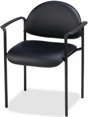 Lorell Vinyl Stacking Chair [69507] -1