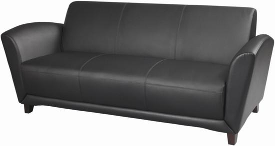Italian Leather Sofas - Mayline Aspire Series Italian Leather Sofa ...