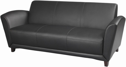 Mayline Aspire Series Italian Leather Sofa [VCC3] -1