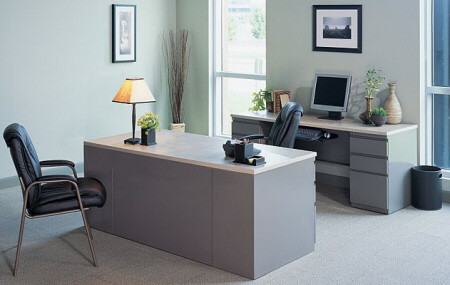 Mayline CSII Executive Desk Set [CST7] -1