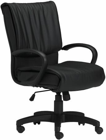 Mayline Mercado Series Leather Desk Chair [2547] -1