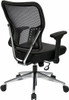 Office Star Mesh Back Chair with Folding Arms [213-E37P91F3] -4