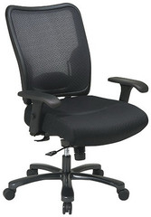 Office Star Mesh Big and Tall Office Chair [75-37A773] -1