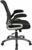 Screen Back Mesh Seat Office Chair with Lumbar Support [EM35207] -4