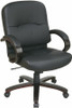 Mid Back Eco Leather Office Chair [WD5381] -1