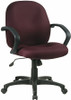 Mid Back Upholstered Desk Chair [EX2651] -1