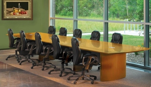 Napoli Executive Conference Table by Mayline [NC6] -1