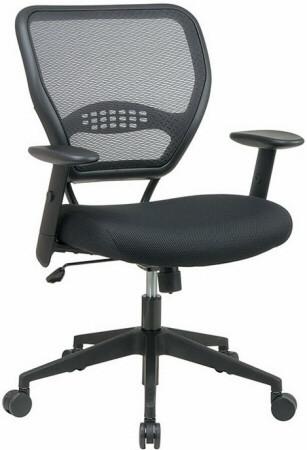 Office Star Air Grid Mesh Office Chair [5500] -1