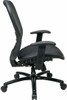Office Star Big and Tall Mesh Back and Seat Office Chair [839-11B35WA] -3