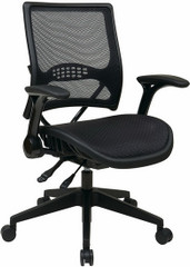 Office Star Air Grid Black Mesh Office Chair [67-77N9G5] -1
