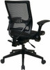 Office Star Air Grid Black Mesh Office Chair [67-77N9G5] -4
