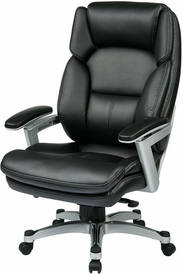 Office Star Eco-Leather Executive Chair [OPH61606] -1