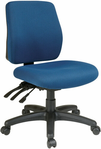 Office Star Mid Back Ergonomic Office Chair [33320] -1