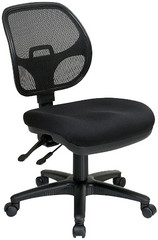 Office Star Multi-Task Armless Mesh Chair [2902] -1