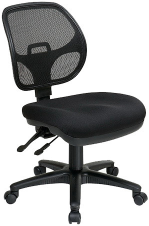 Office Star Multi-Task Armless Mesh Chair [2902] -1