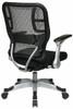 Office Star Self Adjusting Mesh Chair [215-3R2C62R5] -3